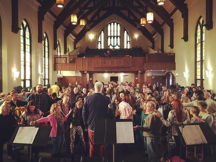 Greater Chicago Church congregation